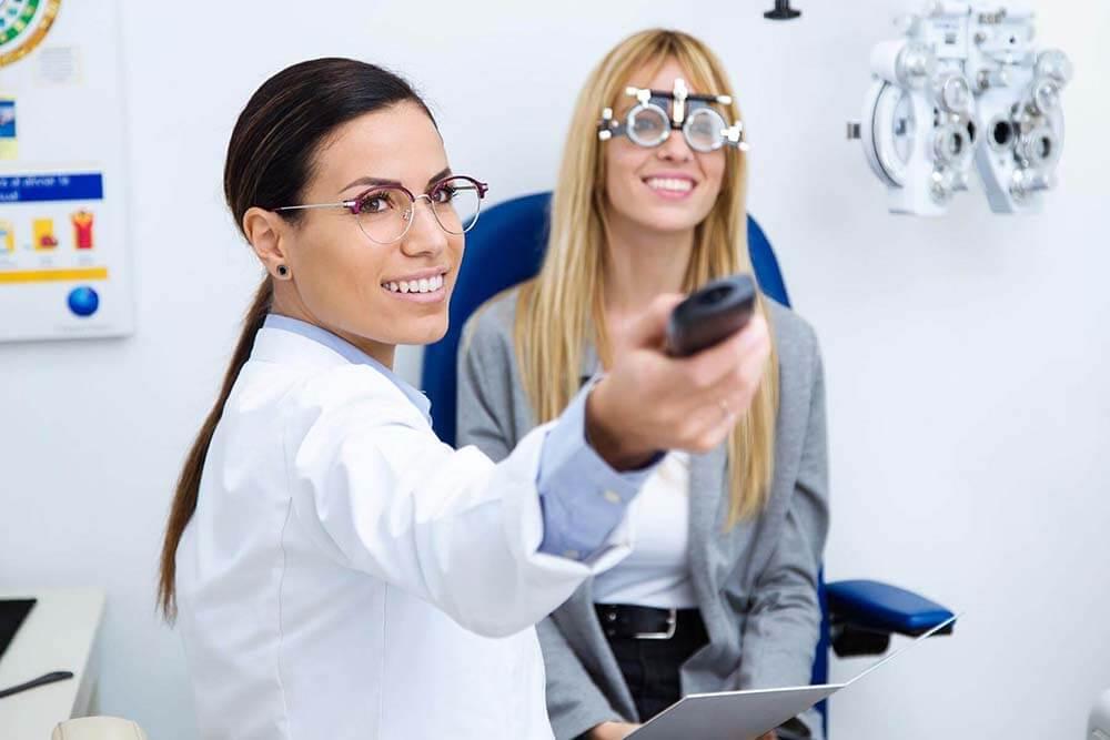 Badanie wzroku OKW